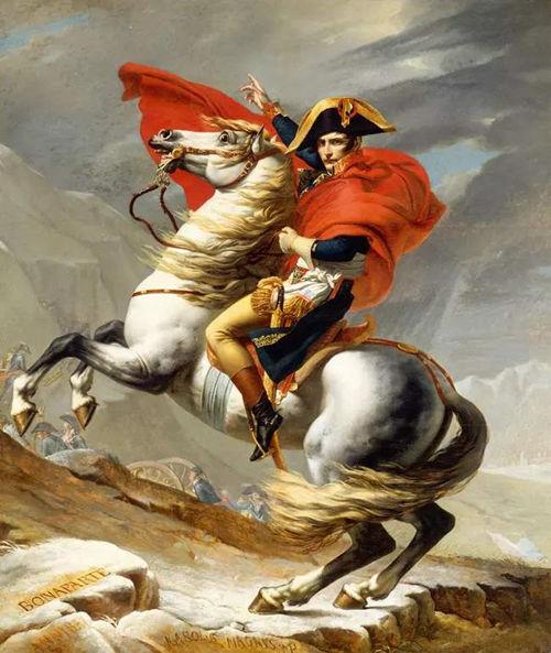 《拿破仑越过阿尔卑斯山》